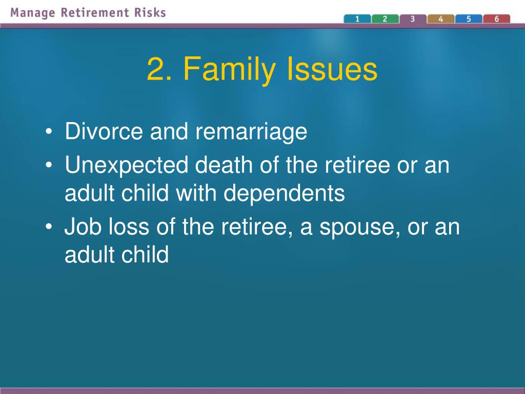 2. Family Issues