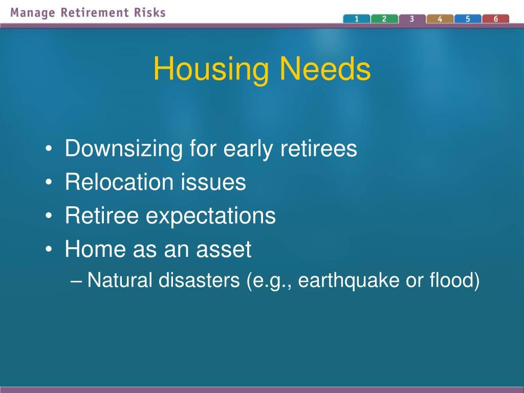 Housing Needs