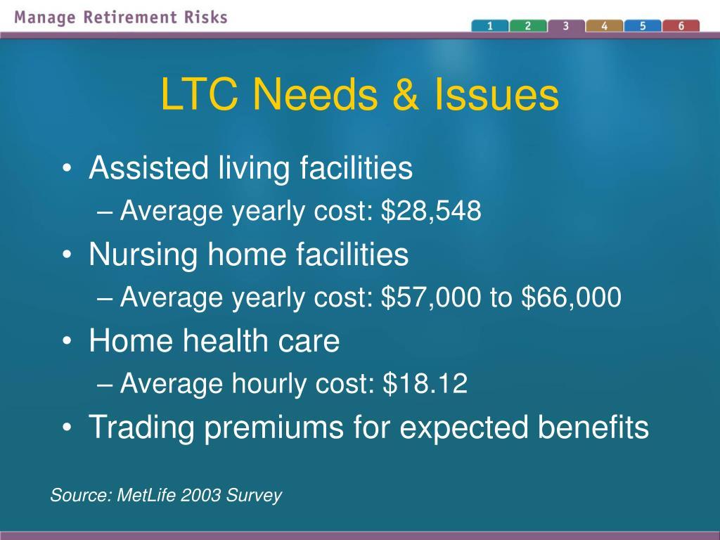 LTC Needs & Issues