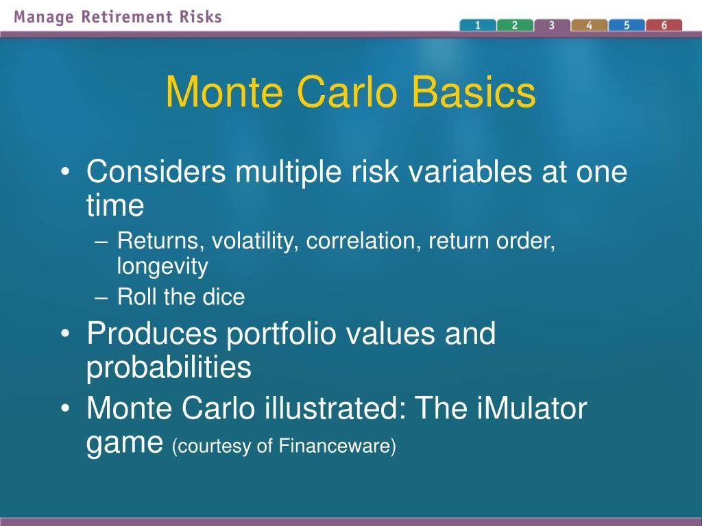 Monte Carlo Basics