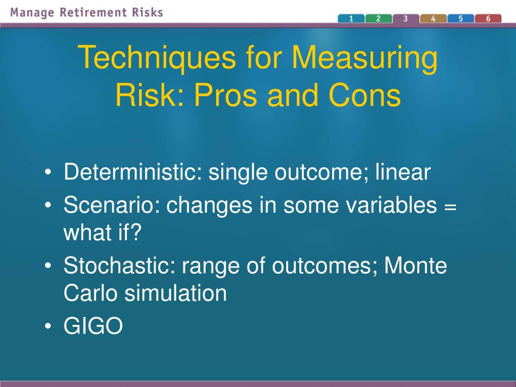 Techniques for Measuring Risk: Pros and Cons