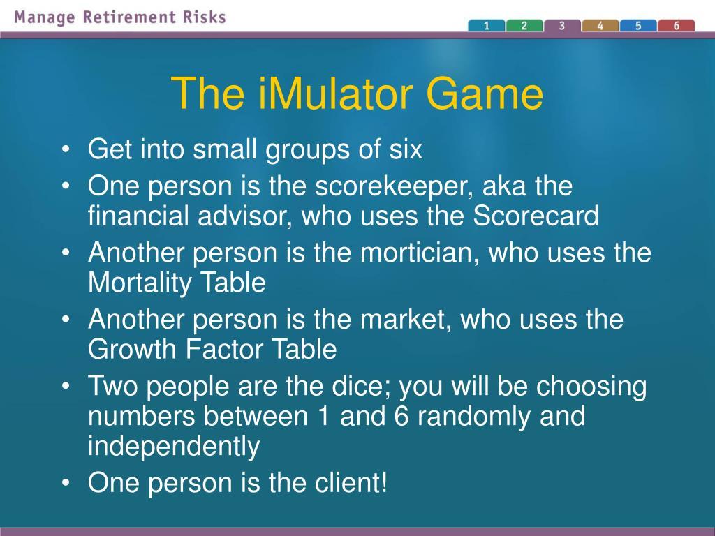 The iMulator Game