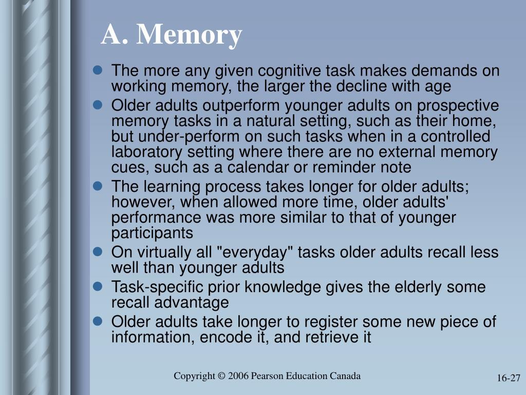 A. Memory