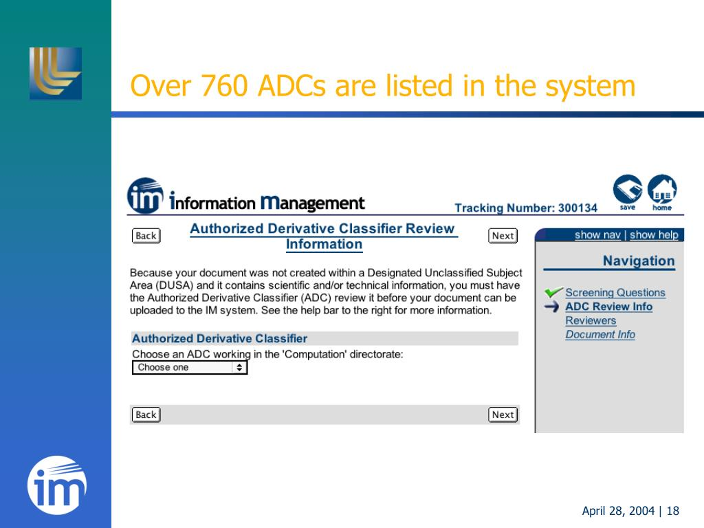 Over 760 ADCs are listed in the system