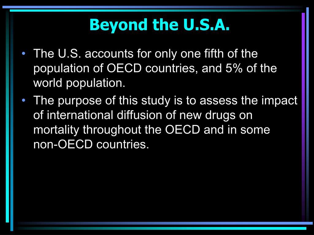 Beyond the U.S.A.