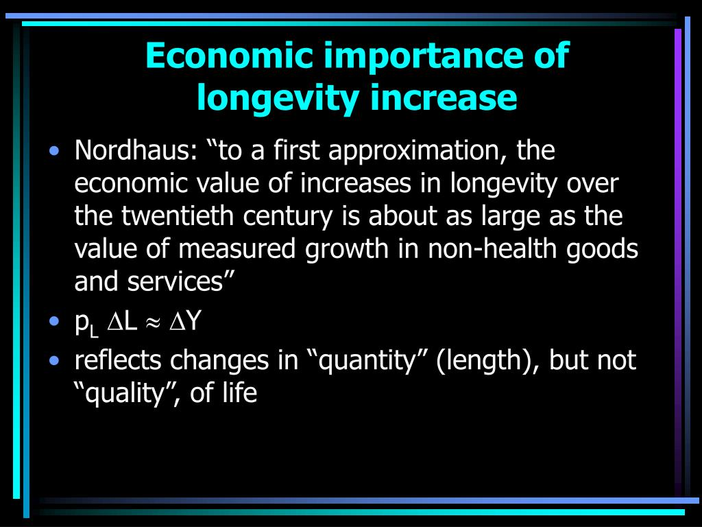Economic importance of