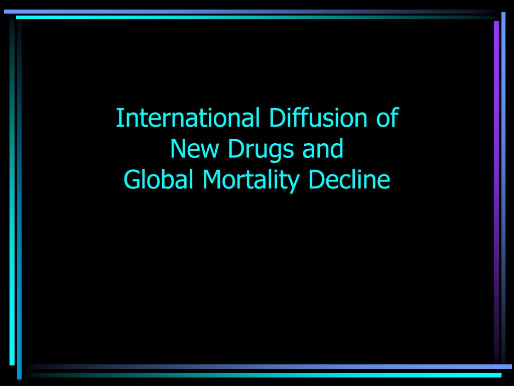 International Diffusion of