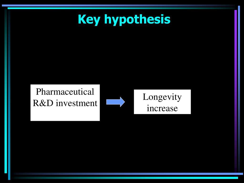 Key hypothesis