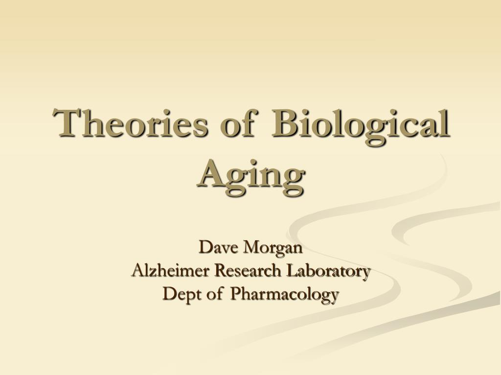 Theories of Biological Aging
