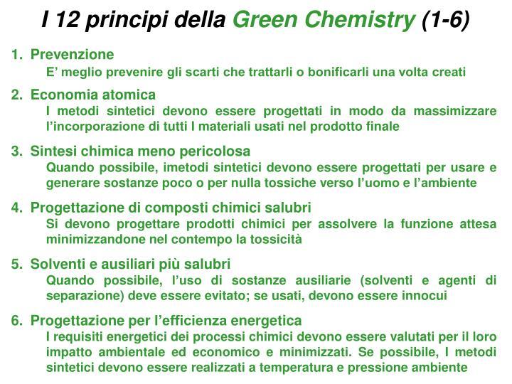 I 12 principi della