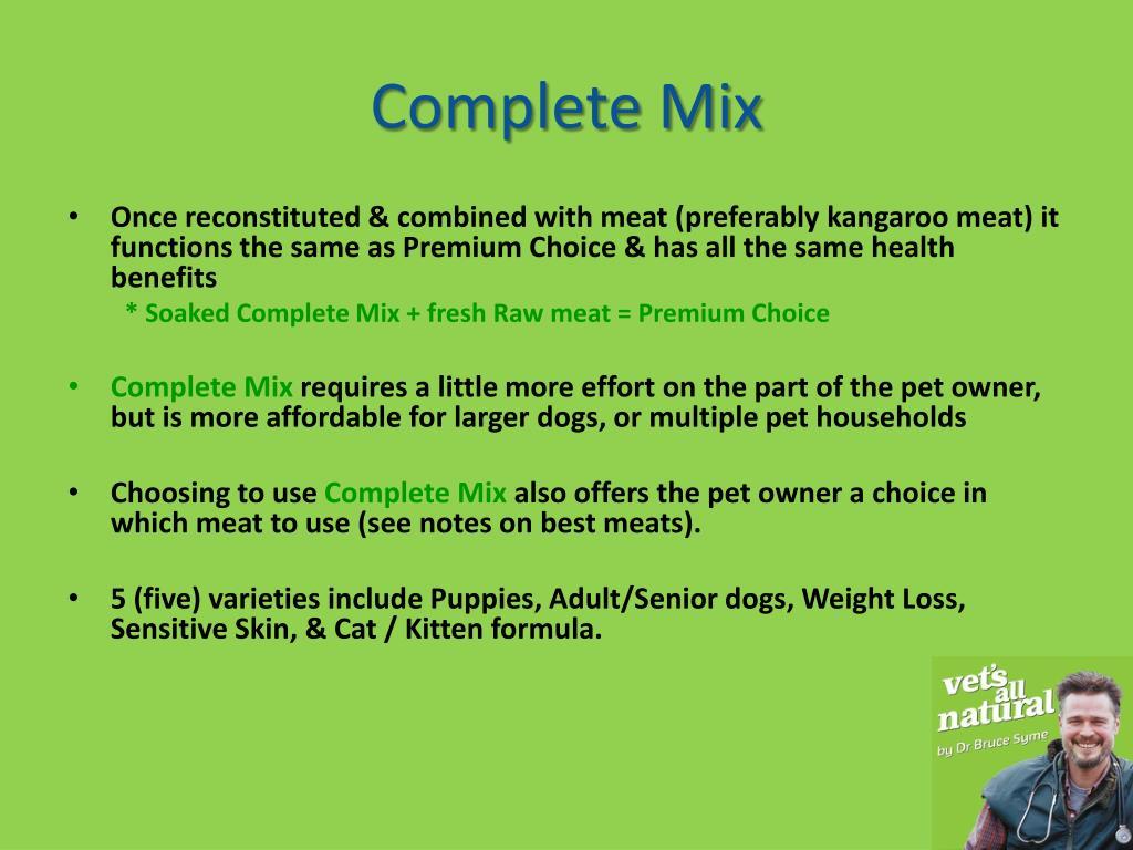 Complete Mix