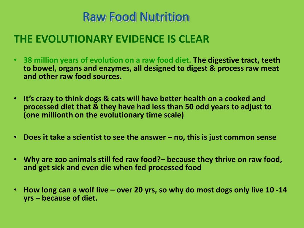 Raw Food Nutrition