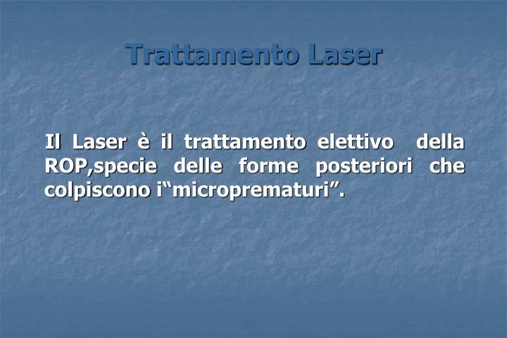 Trattamento Laser