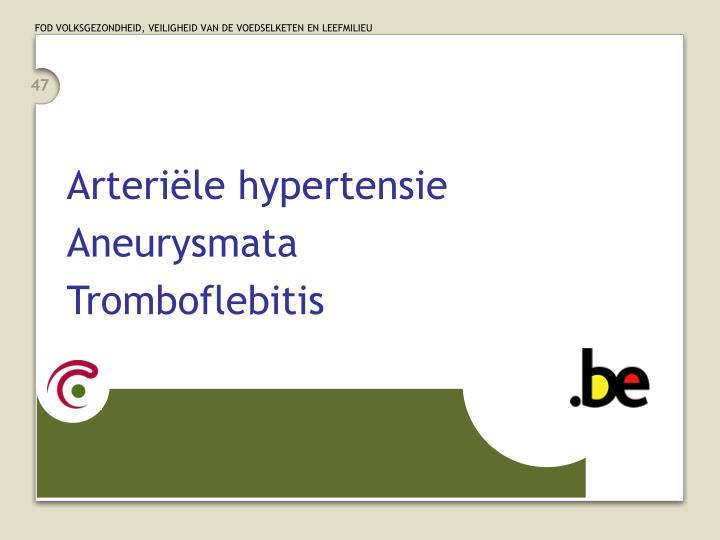 Arteriële hypertensie