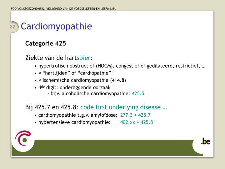Cardiomyopathie