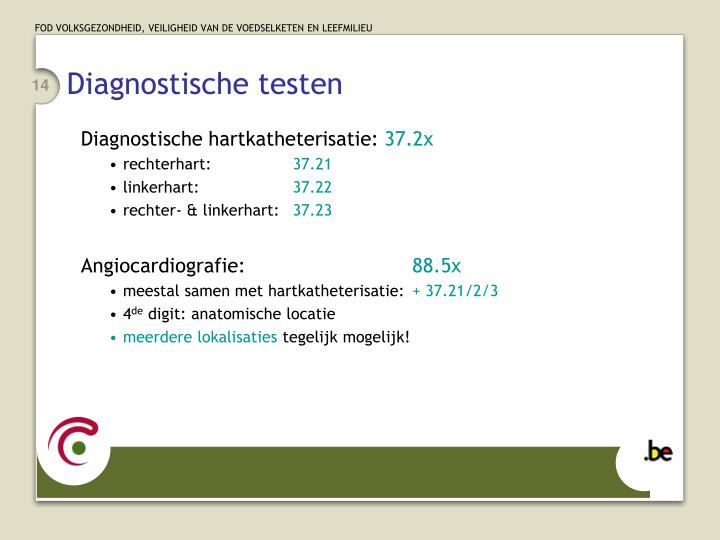 Diagnostische testen