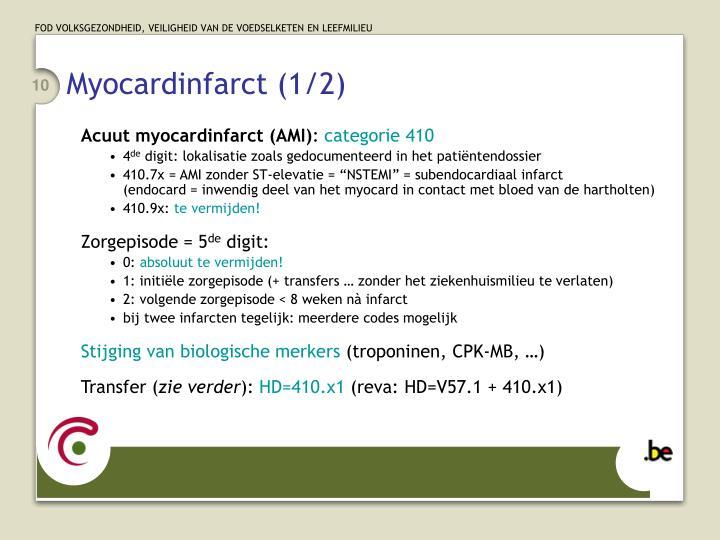 Myocardinfarct (1/2)