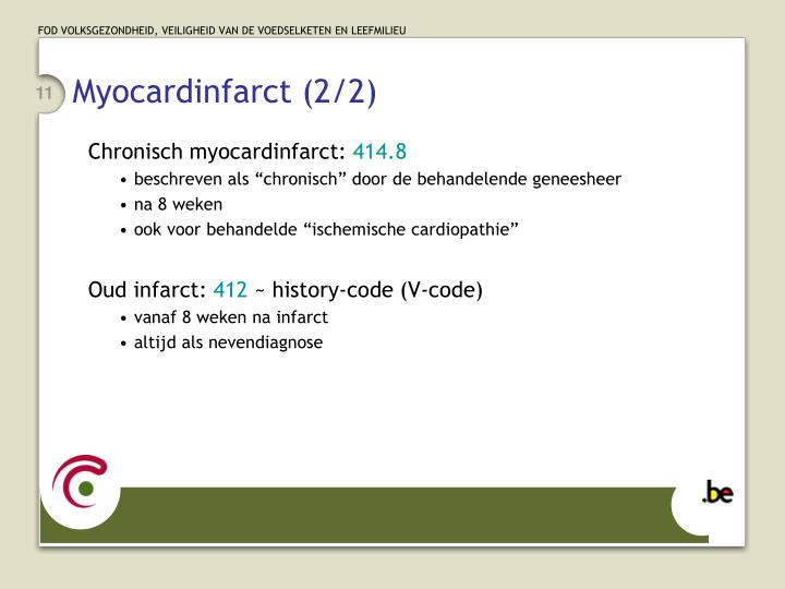 Myocardinfarct (2/2)