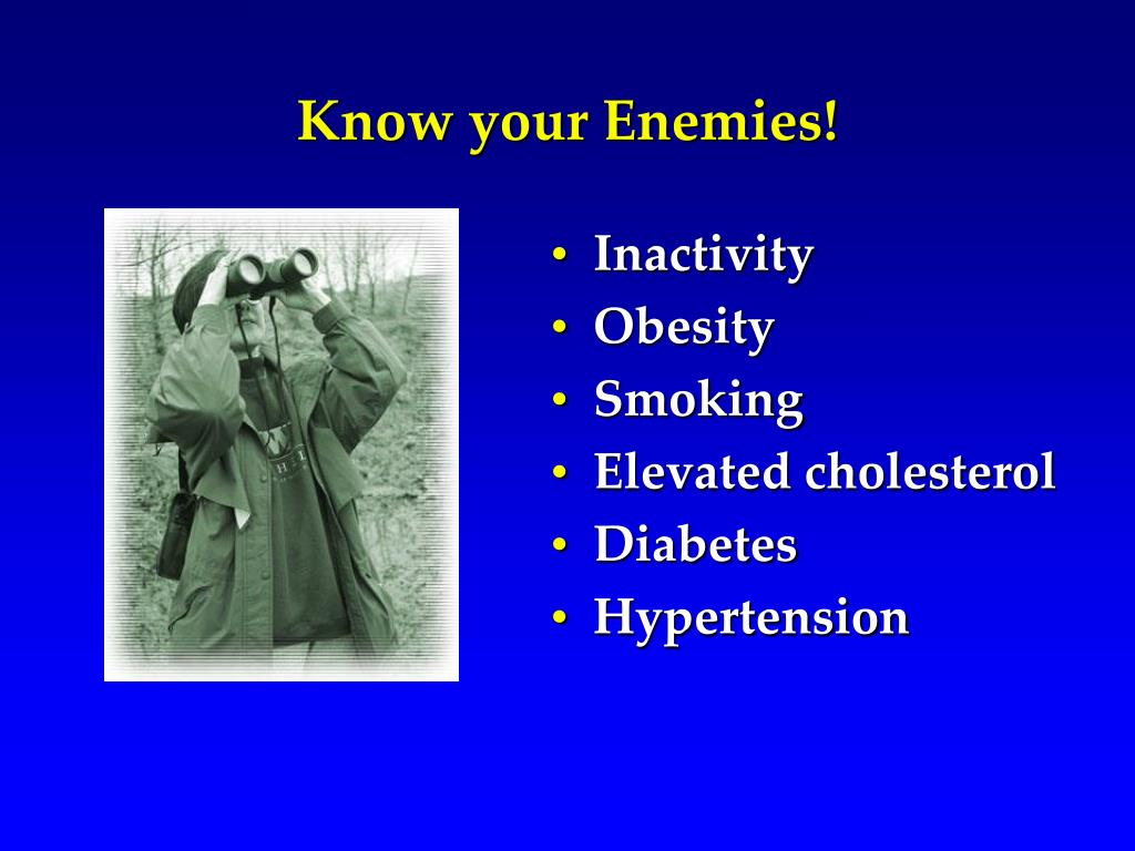 Know your Enemies!