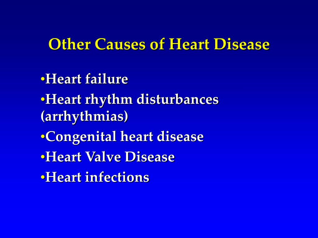 Other Causes of Heart Disease