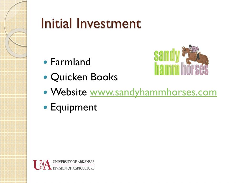 Initial Investment