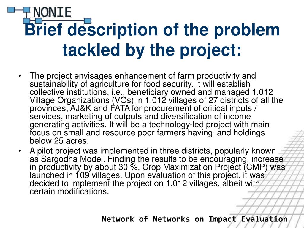 Brief description of the problem tackled by the project: