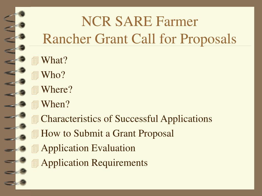 NCR SARE Farmer