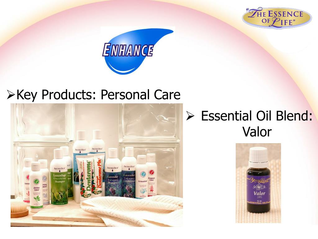 Key Products: Personal Care
