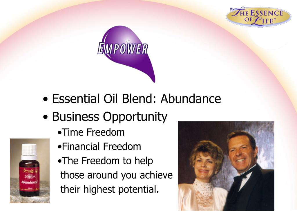 Essential Oil Blend: Abundance
