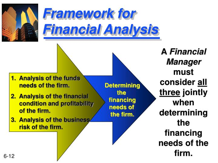 Framework for Financial Analysis