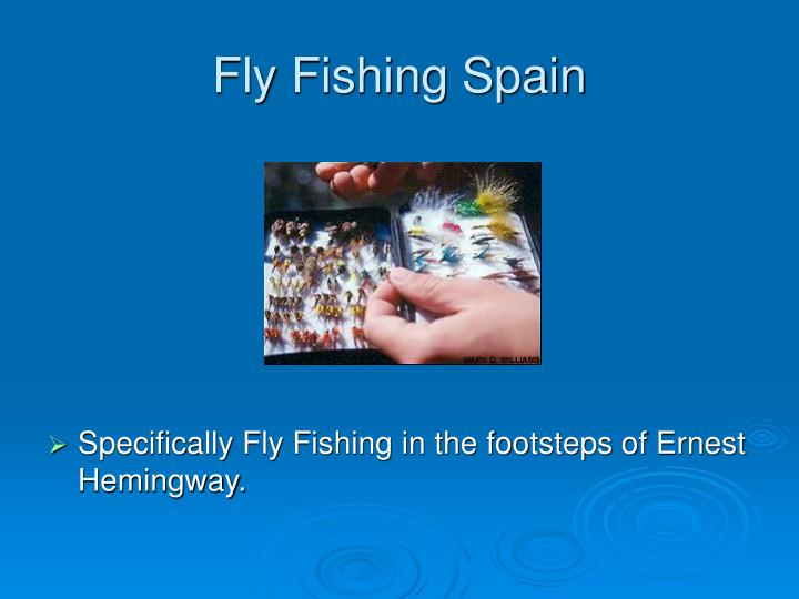 Fly fishing spain