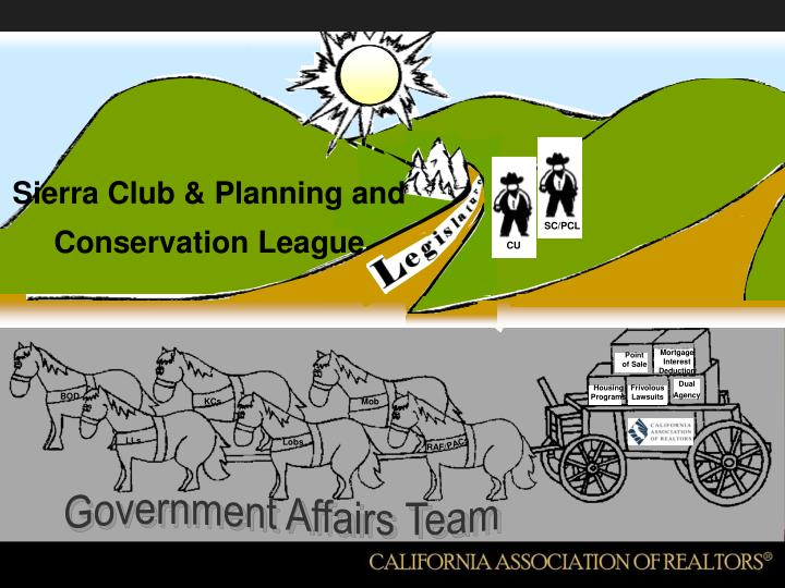 Sierra Club & Planning and Conservation League