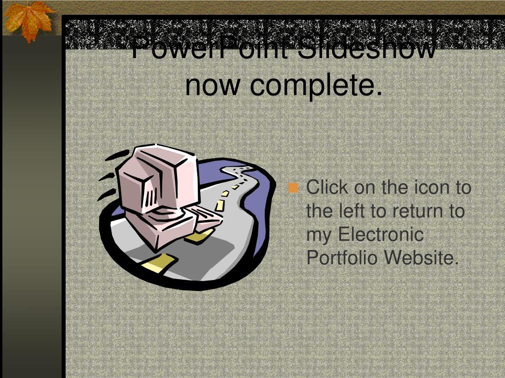 PowerPoint Slideshow