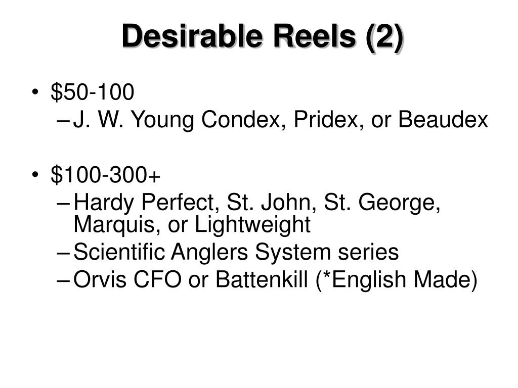 Desirable Reels (2)