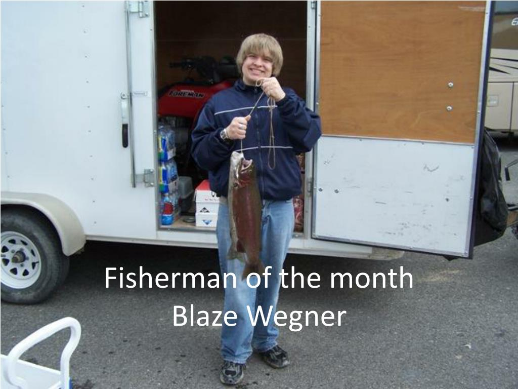 Fisherman of the month