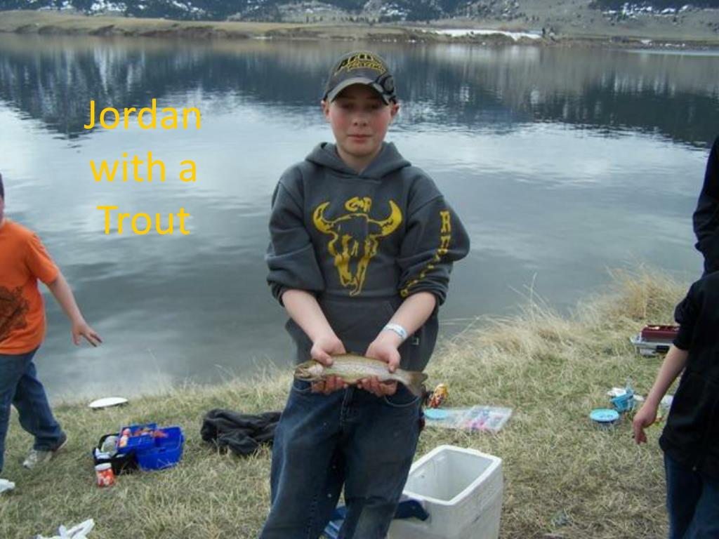 Jordan with a Trout