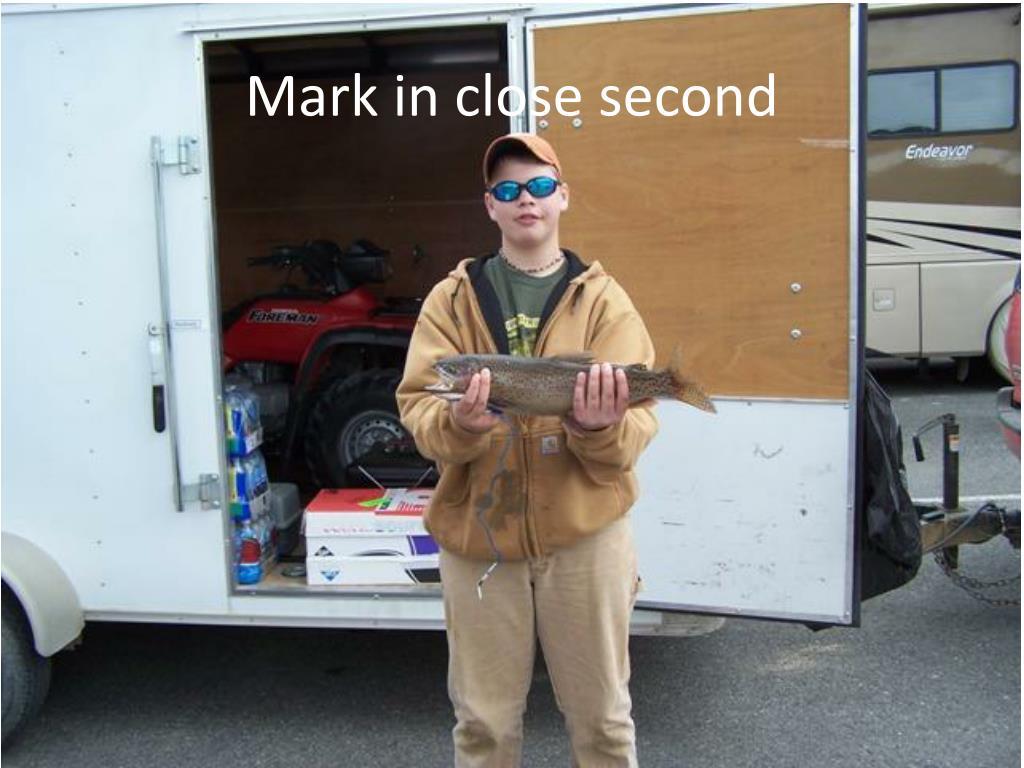 Mark in close second