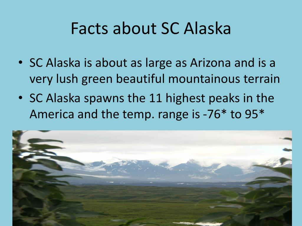 Facts about SC Alaska