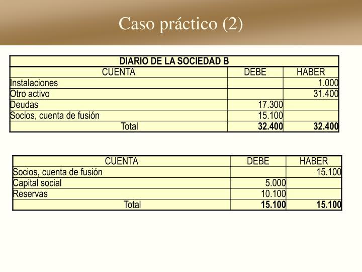 Caso práctico (2)
