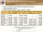deterioro del fondo de comercio caso pr ctico2