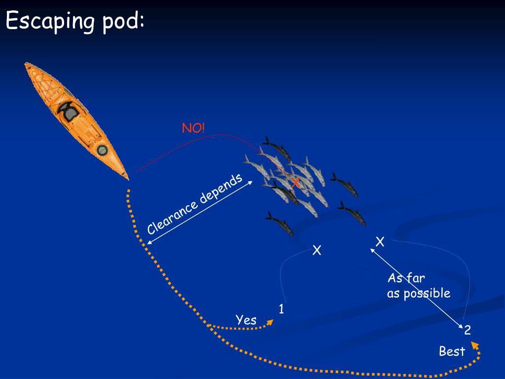 Escaping pod: