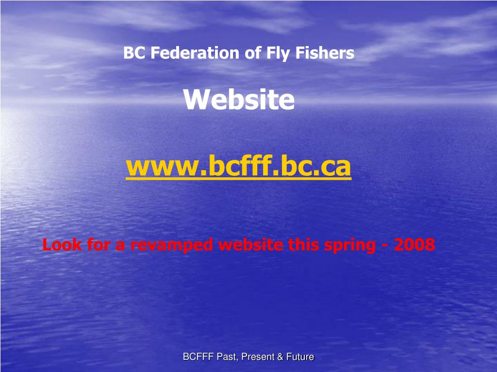 BC Federation of Fly Fishers