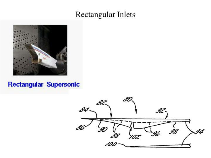 Rectangular Inlets