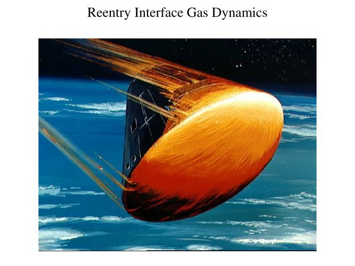 Reentry Interface Gas Dynamics