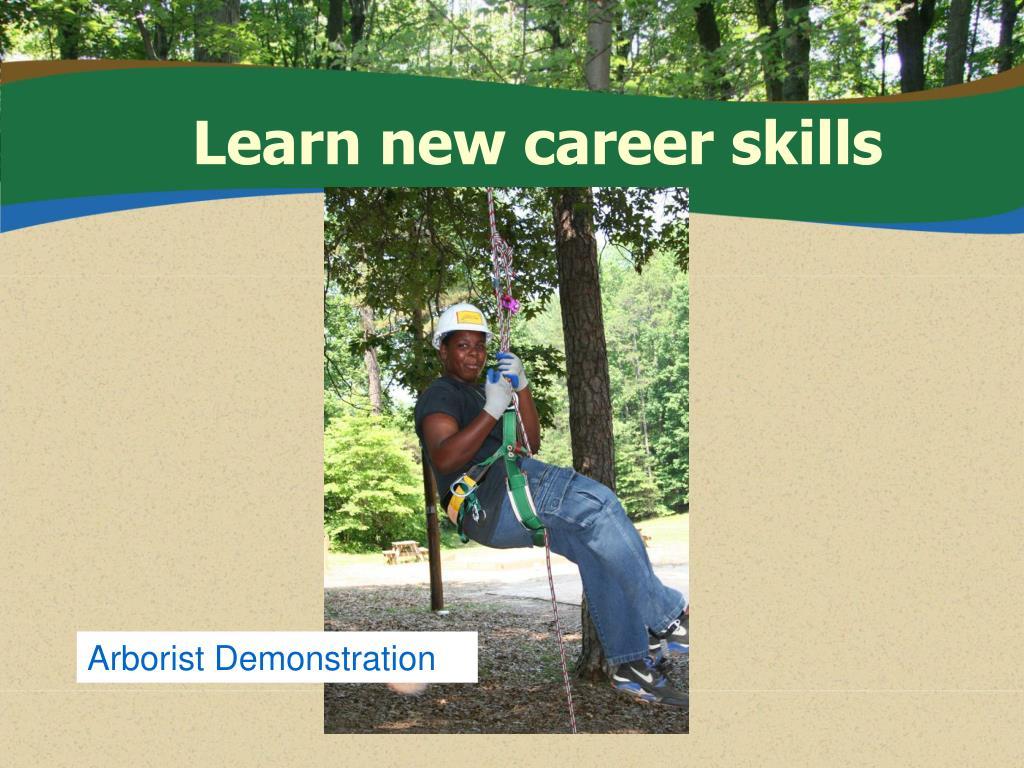 Learn new career skills
