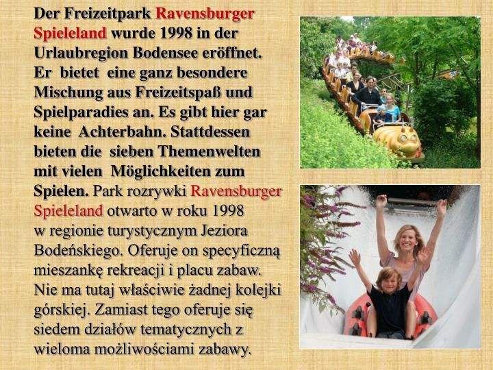 Der Freizeitpark
