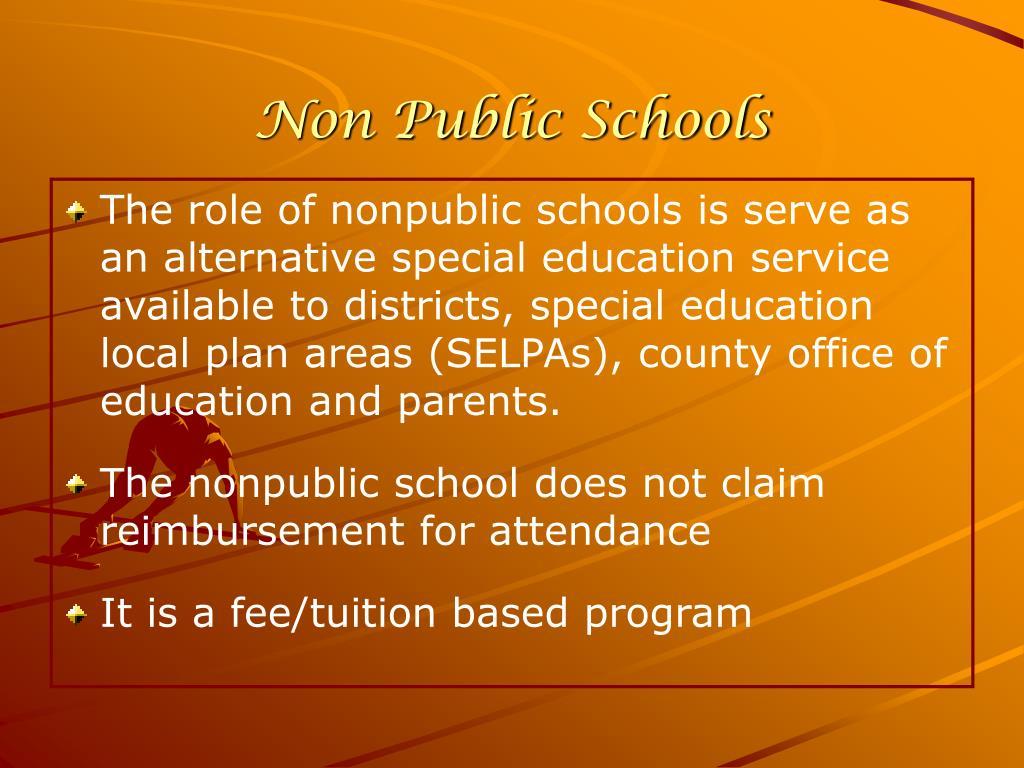 Non Public Schools