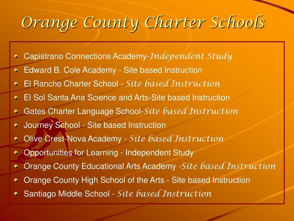 Orange County Charter Schools