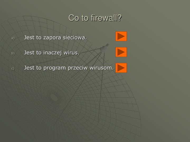 Co to firewall?