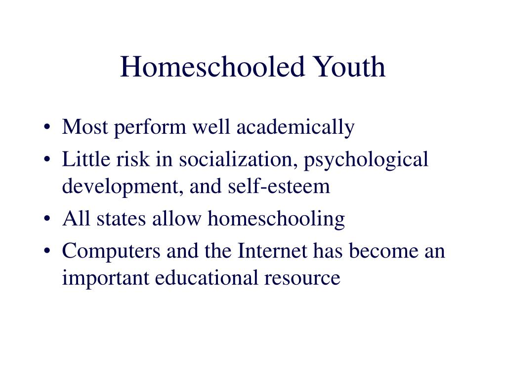 Homeschooled Youth